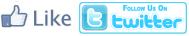 Facebook Like Twitter Follow